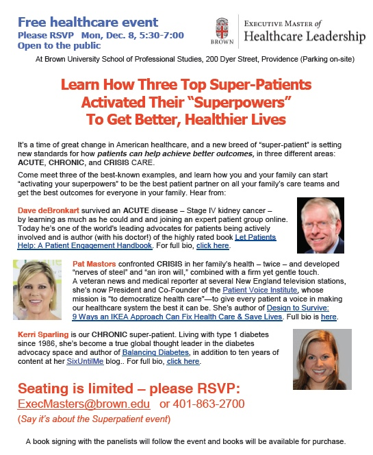 Superpatient flyer screen capture