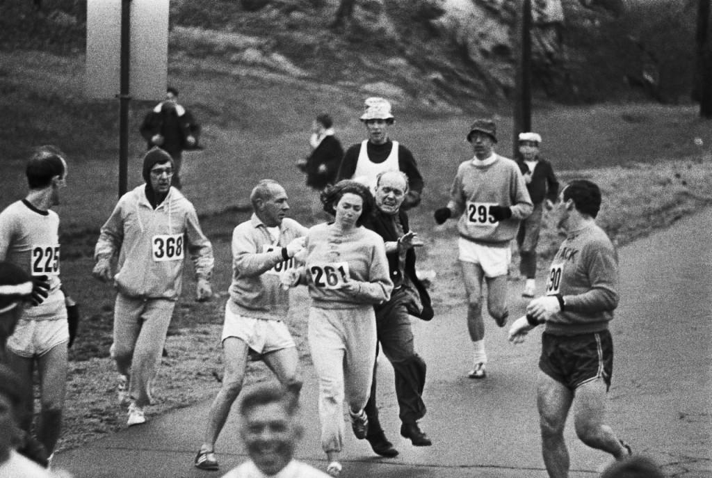 Kathrine Switzer 1967 Marathon