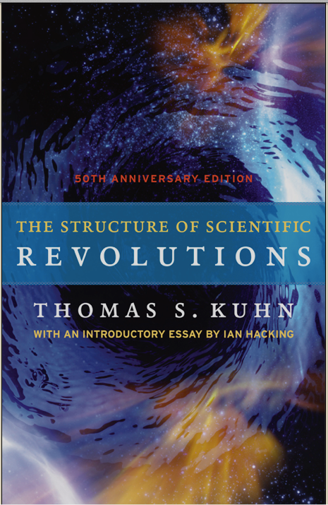 Cover of Structure of Scientific Revolutions 50th anniversary edition