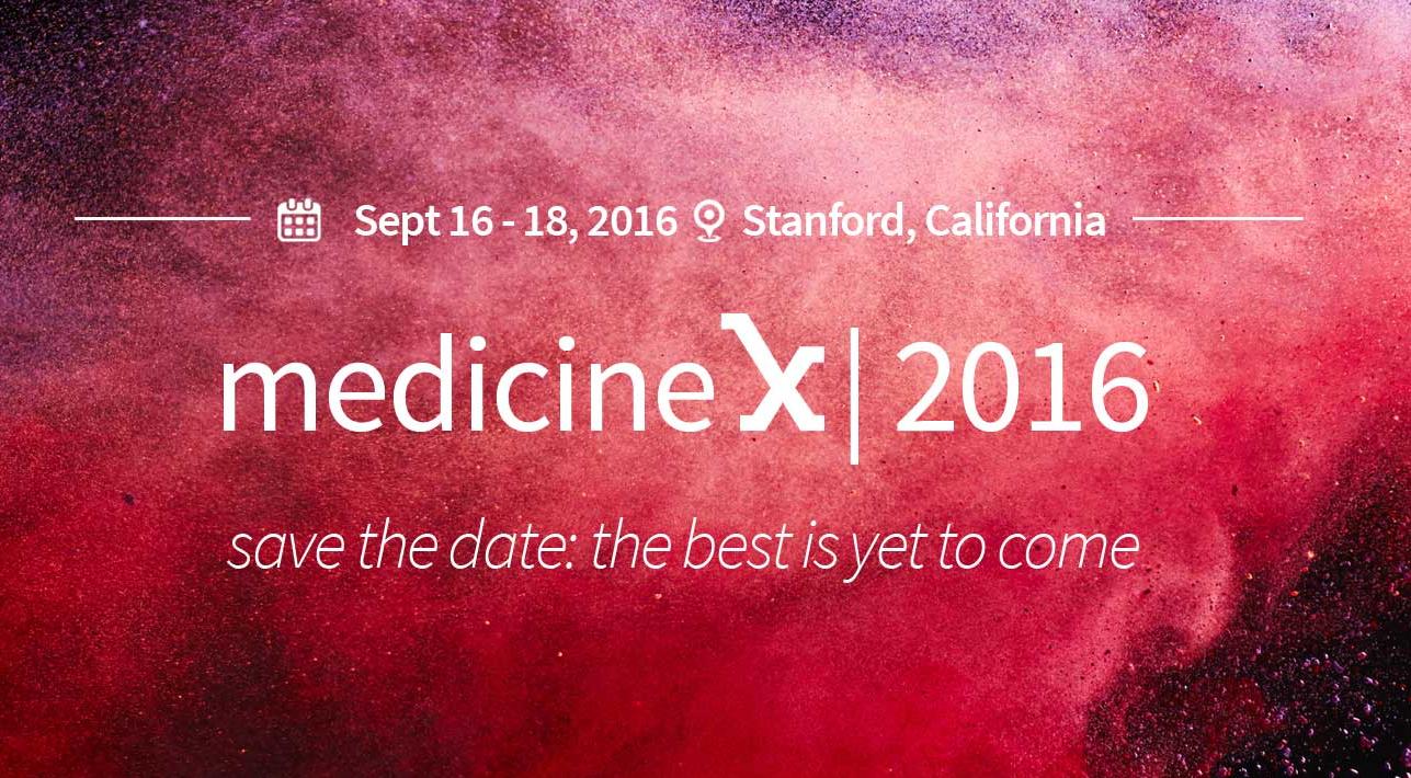 Medicine X 2016 promo graphic