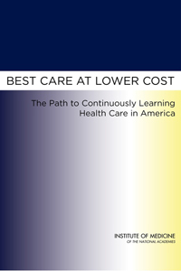 Best Care at Lower Cost cover