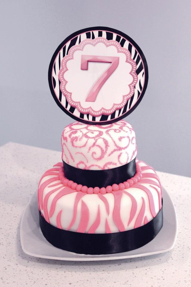 Birthday cake photo by pinterest user dnkchavez10